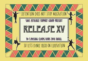 release xv flyer front